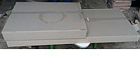 Упаковка столов ученических на металлическом каркасе