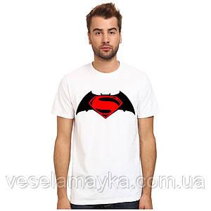 Футболка Batman & Superman (Бэтмен против Супермена)