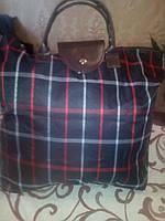 Хозяйственная сумка-кошелек (клетка), фото 1