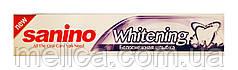 Зубная паста Sanino Whitening Белоснежная улыбка - 100 мл.