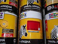Зеб Эмаль алкидная  2,8кг ПФ-116 75 красный