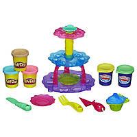 Игровой набор пластилина Play-Doh Башня из кексов. Оригинал Hasbro