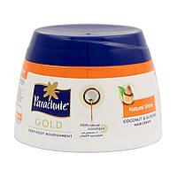 """Крем-маска кокосовая для блеска волос с экстрактом Миндаля ТМ """"Parachute Gold """", 210 мл."""