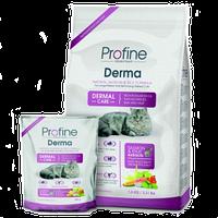 Profine Cat Derma Корм лосось и рис для длинношерстных кошек