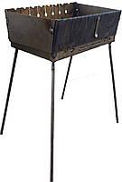 Разборный мангал - чемодан на 6 шампуров