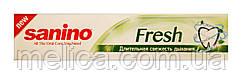 Зубная паста-гель Sanino Fresh Длительная свежесть дыхания - 100 мл.