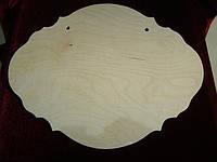 Панно под декупаж (35,5 х 27,5 см), декор