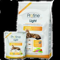 Profine Cat Light Корм мясо индейки и рис для кошек с избыточным весом