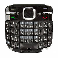Клавиатура для Nokia C3-00, оригинал (черная)