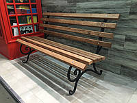 Лавка-скамейка. Длинна 1.5 м . Без перил