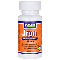 Железо (Iron), 18 мг - 120 капсул купить в Украине