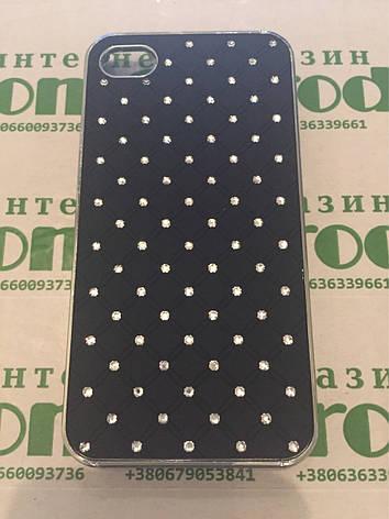 Пластиковый чехол со стразами IPhone 4 \ 4s, фото 2