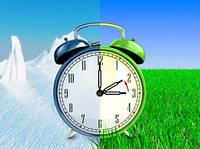 Перевод часов в ночь с 26 на 27 марта на летнее время!
