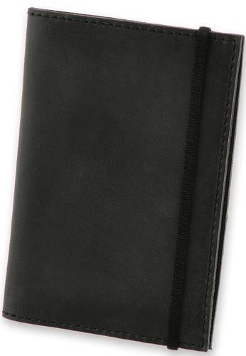 Кожаная обложка для паспорта + блокнот BlankNote BN-OP-1-g графит