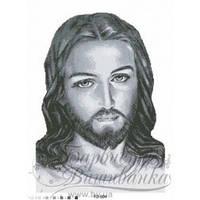 TO004ан4560 Бісерна заготовка для вишивання схеми-картини Ісус сірий 45 см x 60 см