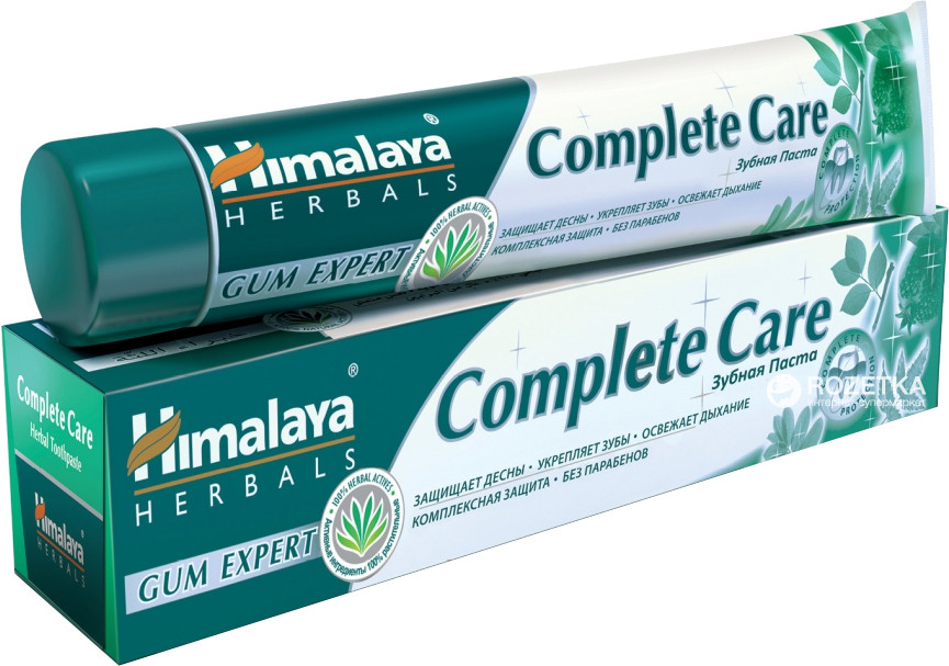 Зубная паста Комлит-каре, «Полный Уход», Complete Care, (75ml) для укрепления десен и зубов
