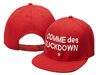 Кепка Comme des Fuckdown Snapback Red