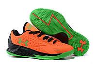 Баскетбольные кроссовки Under Armour Curry One Low orange