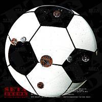Значок «Футбольный мяч» на булавке