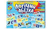 """Настольная игра """"Логічна абетка"""" укр., Danko toys"""