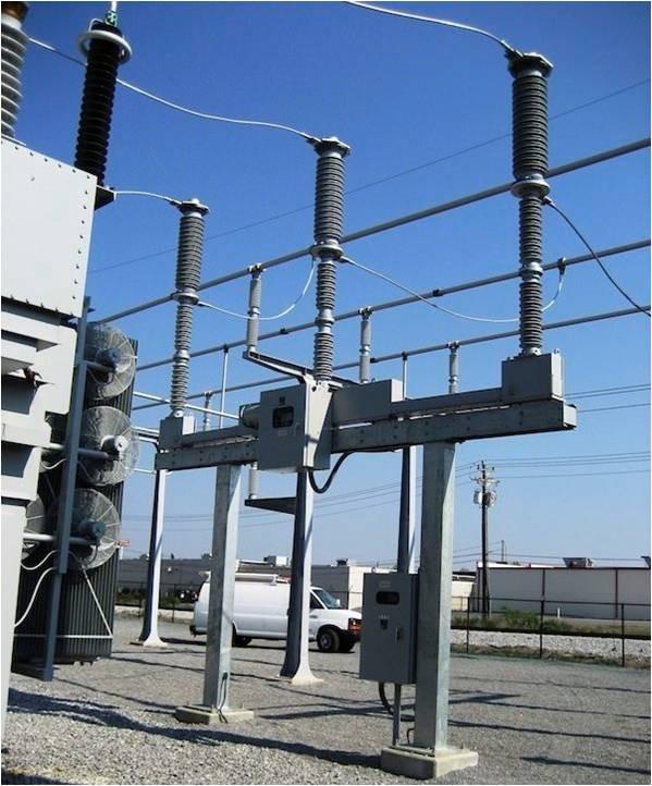 Замена / ремонт высоковольтных выключателей 110 - 750кВ - EMB-группа компаний  в Киеве
