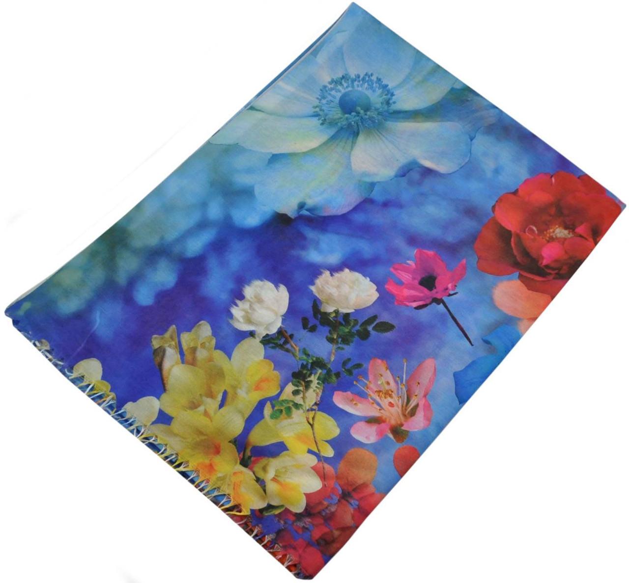 Женский шарф 017407 Украина синий