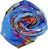 Женский шарф 017407 Украина синий, фото 2