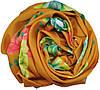 Женский шарф 017419 розы желтый, фото 2