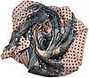 Женский платок горох розовый, фото 2
