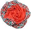 Женский платок шары коралловый, фото 2