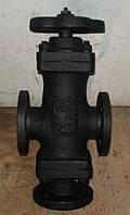 Клапан 15с23п Ду25 трехходовой сильфонный фланцевый