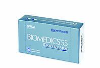 Контактные линзы Biomedics 55 Evolution   1шт-122гр