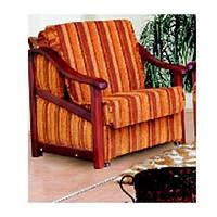 Кресло Рико деревянные подлокотники