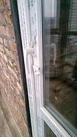 Пластиковые двери salamander (саламандра) с двусторонней ручкой в Киеве (044) 227-93-49