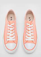 Женские  кеды VICES персикового цвета