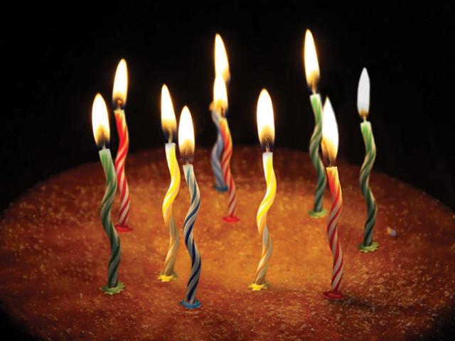 свечи для торта на день рождения