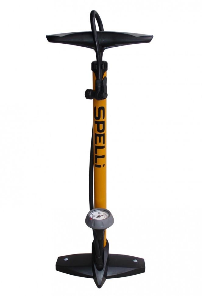 Насос велосипедный Spelli SPM-155P напольный