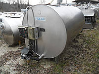 Охладитель молока закритого типа, танк Packo RM/DX 2000 л.