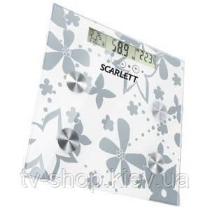 Весы многофункциональные Sarlett (silver flower)