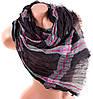 Стильный женский хлопковый шарф 190 на 80 см. ETERNO (ЭТЭРНО) ES0107-13-1 черный