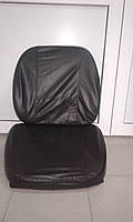 Подушка сидения с чехлом тракторная (комплект: 2 подушки+2 чехла)
