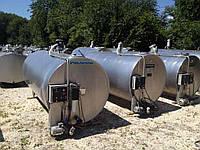Охладитель молока закритого типа ,танк Packo CRM/DX 3000 л.
