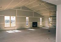 Изготовление стен из гипсокартона