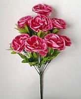 Букет искусственных цветов  Роза чайная с добавкой , 50 см
