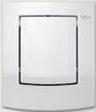 Панель смыва TECEambia Urinal белая антибактериальная, фото 1