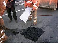 Ямочный ремонт дороги