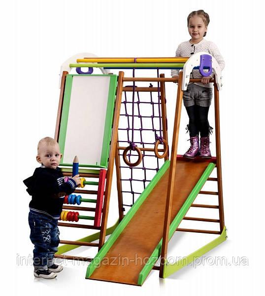 d37c9cd363ed Детский спортивный комплекс для дома BabyWood Plus SportBaby - Интернет -  магазин Хоз-Дом в