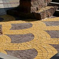 Тротуарная плитка, 60 видов форм