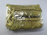 Нашивка якорь золотой люрекс Упаковка 100 шт