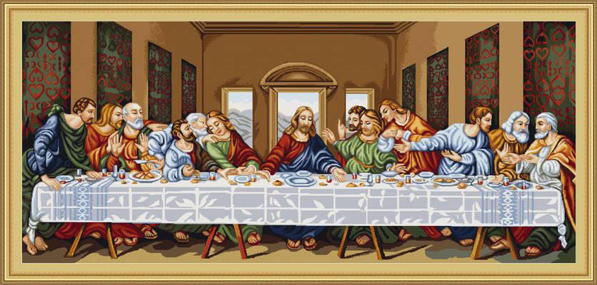 """Набор для вышивания нитками  """"Тайная вечеря"""", фото 2"""